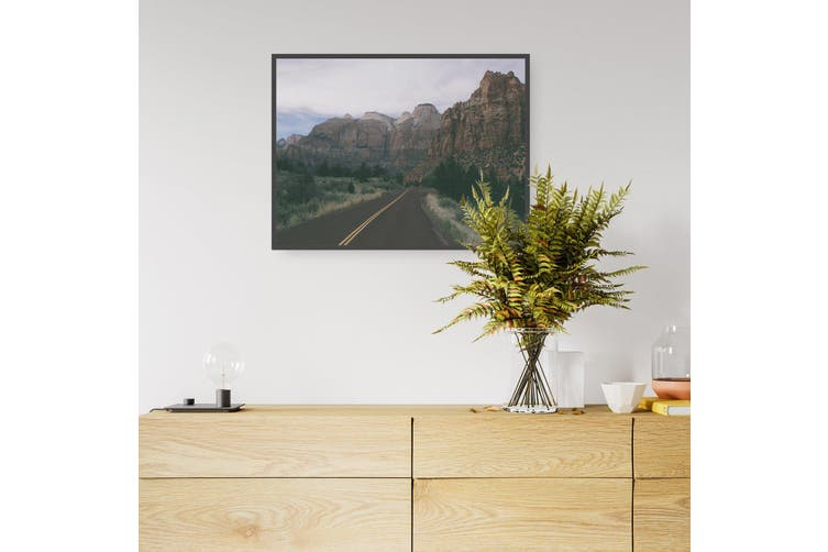 Rocky Road Landscape Photograph Wall Art