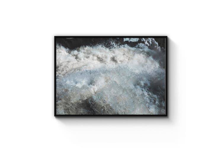 Ocean Waves Coastal Photograph Wall Art