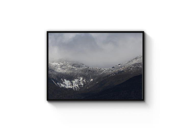 Winter Mountain Landscape Photograph Wall Art