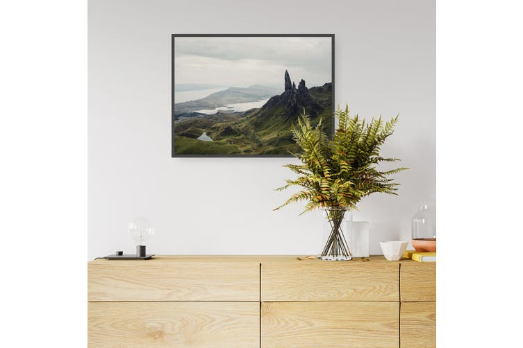 Rocky Landscape Coastal Photograph Wall Art
