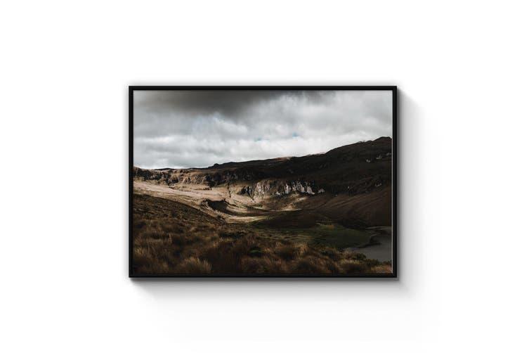 Rugged Landscape Nature Photograph Wall Art