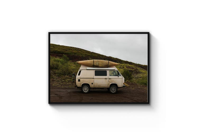 Travel By Camper Boho Photograph Travel Wall Art