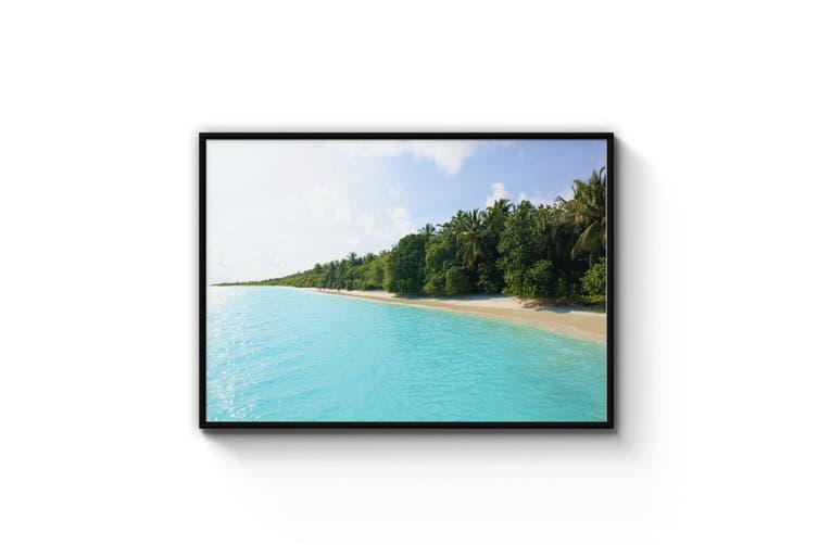 Tropical Beach Coastal Photography Wall Art