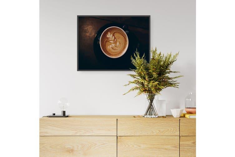 Warm Cuppa Joe Coffee Photograph Wall Art