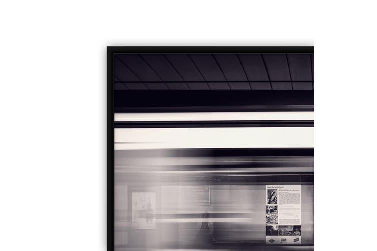 Slow Down Train Photograph Office Wall Art
