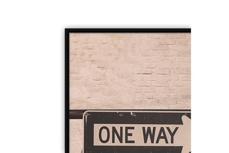 One Way City Photograph Urban Wall Art