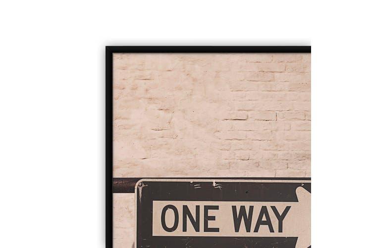 One Way City Photograph Urban Wall Art
