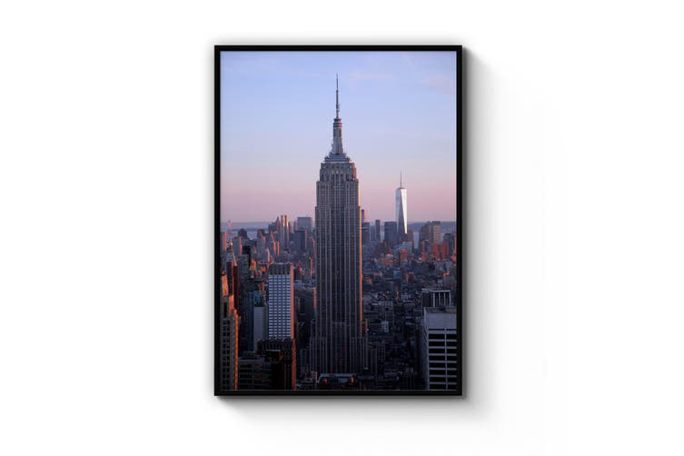 Empire State Building New York Photograph Wall Art