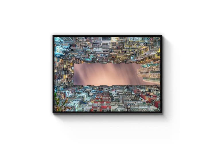 Walled City Photograph Urban Wall Art