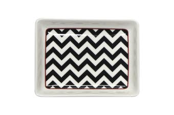 Ciroa Chevron Rectangular Bowl 11Cm