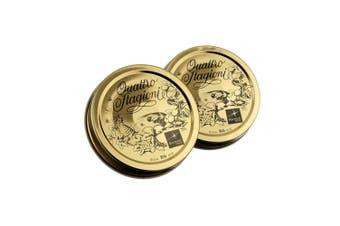 Bormioli Rocco Quattro Stagioni Preserving Jar Caps D86 2Pce Metal In Gold