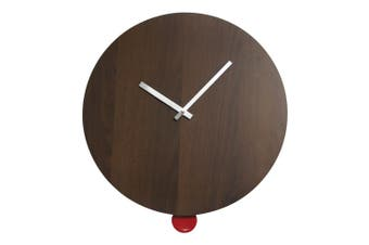 Degree Pendulum Wood Clock 40Cm Wood In Natural