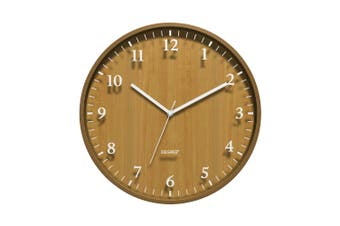 Degree Bentwood Silhouette Clock 40Cm Wood In Natural
