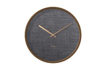 Degree Bentwood Suit Clock 40Cm Wood In Grey