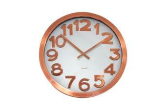Degree Stelton Copper Clock 40Cm Metal In Copper