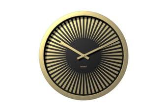 Degree Horizon Pitch Clock 40Cm Metal In Gold