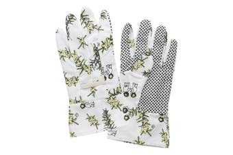 Ecology May Gibbs Wattle Gardening Gloves Waterproof Linen In Yellow
