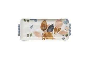 Ecology Twiggy Vovo Platter 36 X 15.5Cm Stoneware In Multi