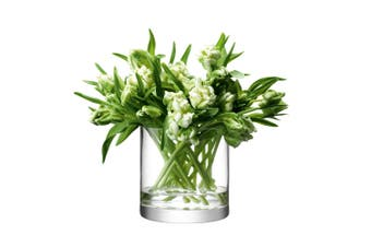 Lsa Column Vase 17 X 17Cm Glass In Clear