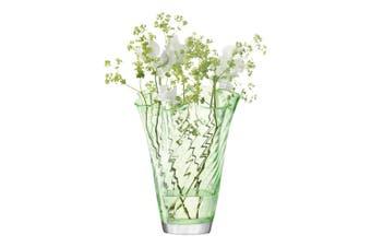 Lsa Chiffon Pistachio Optic 25Cm Glass In Green