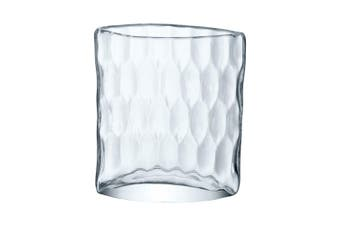 Lsa Tulle Vase 21Cm Glass In Clear