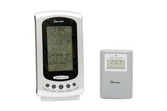 Derwent Weather Station Sensor Indoor/Outdoor Plastic In Silver
