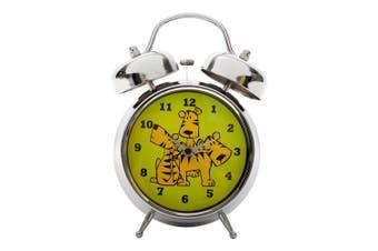 Tik Tok Tubell Alarm Clock - Tiger Metal In Green