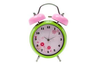 Tik Tok Tubell Alarm Clock - Pink Metal In Pink