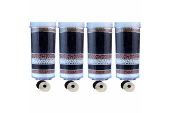 Aimex Water 8 Stage Water Filter With KDF Activated Charcoal Ceramic Plate 4 piece For AIMEX Brand  Only