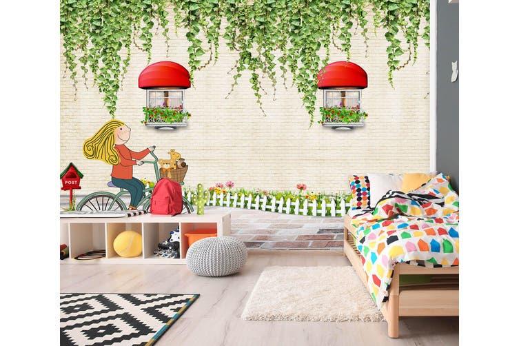 3D Home Wallpaper Spring Gazebo 015 BCHW Wall Murals Woven paper (need glue), XXXXL 520cm x 290cm (WxH)(205''x114'')