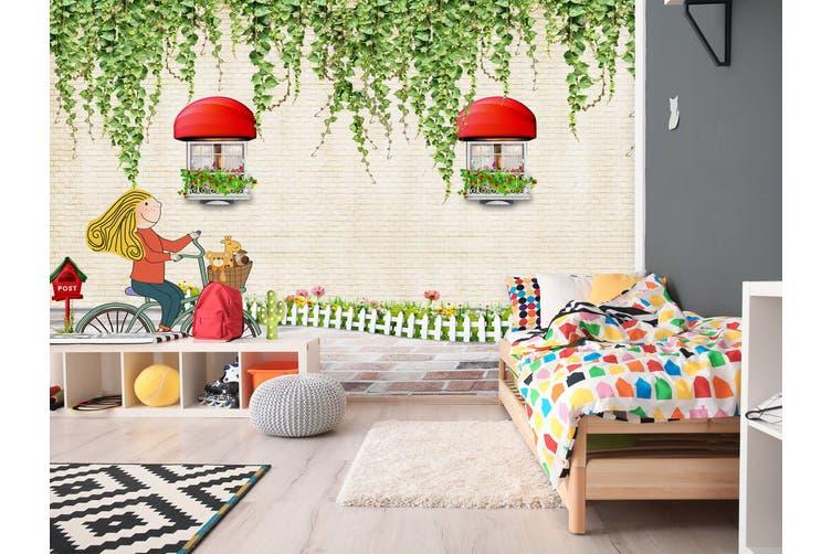 3D Home Wallpaper Spring Gazebo 015 BCHW Wall Murals Self-adhesive Vinyl, XXL 312cm x 219cm (WxH)(123''x87'')