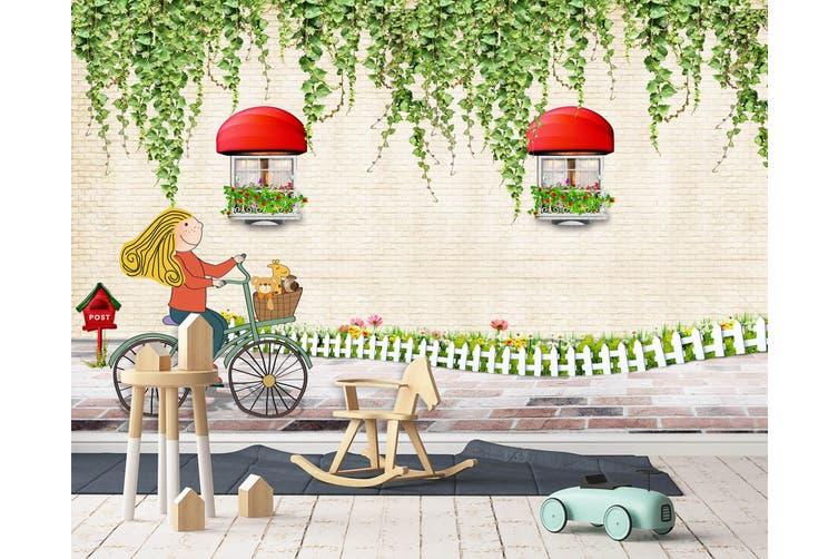 3D Home Wallpaper Spring Gazebo 015 BCHW Wall Murals Self-adhesive Vinyl, XXXL 416cm x 254cm (WxH)(164''x100'')