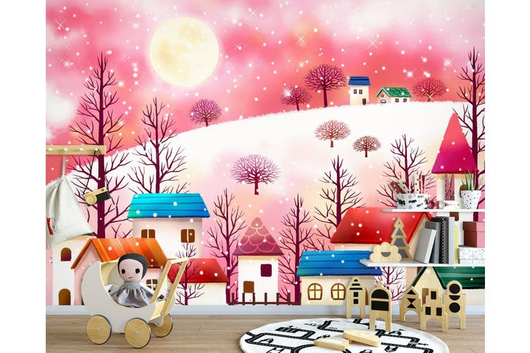 3D Home Wallpaper Dream World 1732 BCHW Wall Murals Woven paper (need glue), XXXL 416cm x 254cm (WxH)(164''x100'')