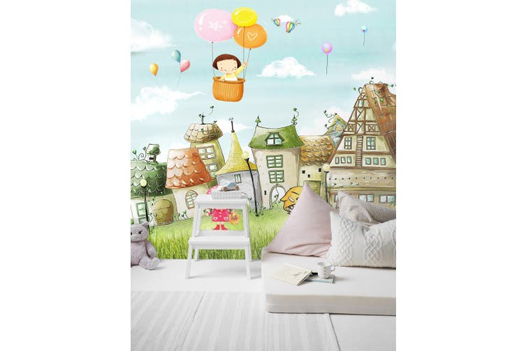 3D Home Wallpaper Country Estate 1729 BCHW Wall Murals Woven paper (need glue), XXXXL 520cm x 290cm (WxH)(205''x114'')