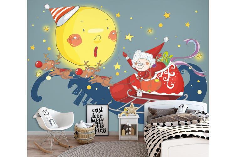 3D Home Wallpaper Moon Doll 1723 BCHW Wall Murals Woven paper (need glue), XL 208cm x 146cm (WxH)(82''x58'')