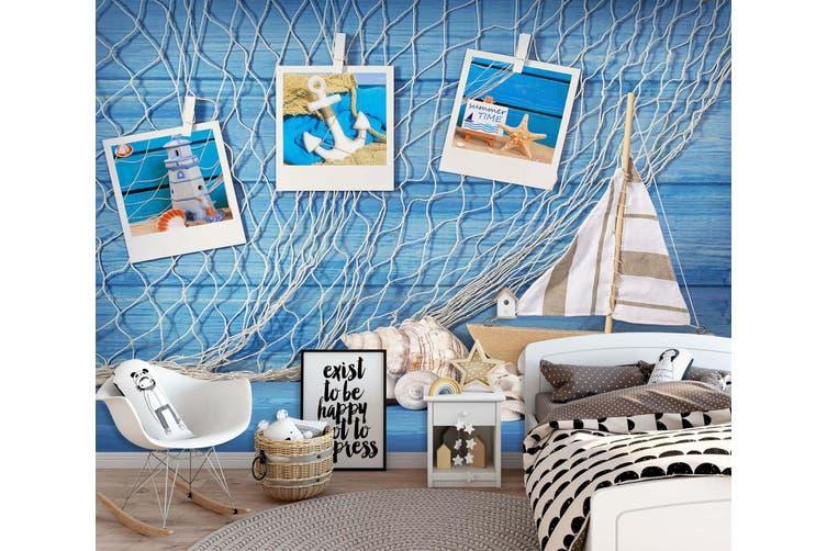 3D Home Wallpaper Beach Cross 1719 BCHW Wall Murals Woven paper (need glue), XL 208cm x 146cm (WxH)(82''x58'')