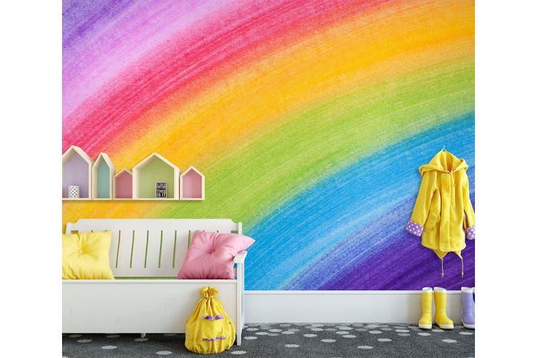 3D Home Wallpaper Painted Rainbow 1717 BCHW Wall Murals Woven paper (need glue), XXL 312cm x 219cm (WxH)(123''x87'')