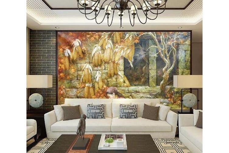 3D Home Wallpaper Castle 1296 BCHW Wall Murals Self-adhesive Vinyl, XL 208cm x 146cm (WxH)(82''x58'')