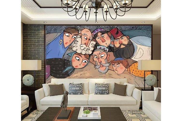 3D Home Wallpaper Adults And Children 1294 BCHW Wall Murals Woven paper (need glue), XXXXL 520cm x 290cm (WxH)(205''x114'')