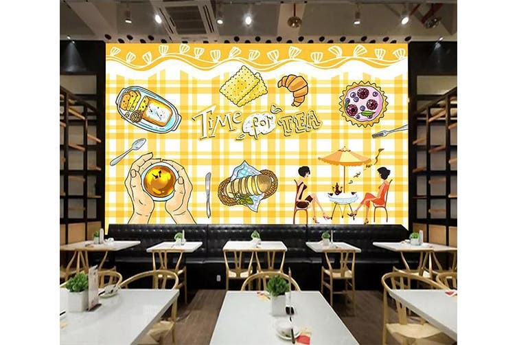 3D Home Wallpaper Delicious Food 1290 BCHW Wall Murals Woven paper (need glue), XXL 312cm x 219cm (WxH)(123''x87'')