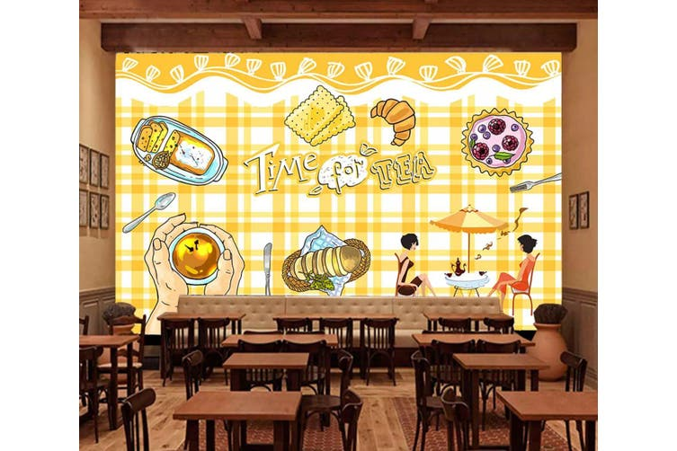 3D Home Wallpaper Delicious Food 1290 BCHW Wall Murals Self-adhesive Vinyl, XXXL 416cm x 254cm (WxH)(164''x100'')