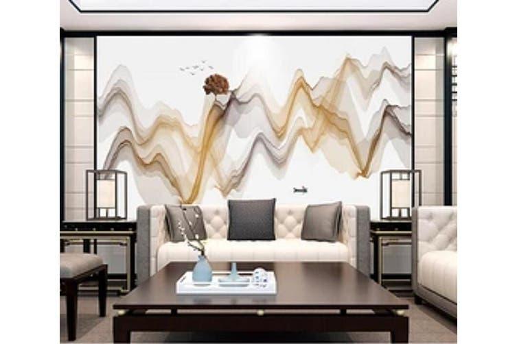 3D Home Wallpaper Misty Valley 1268 BCHW Wall Murals Self-adhesive Vinyl, XL 208cm x 146cm (WxH)(82''x58'')