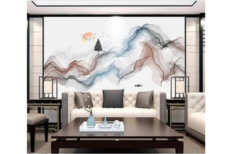3D Home Wallpaper Color Wave 1266 BCHW Wall Murals Woven paper (need glue), XXXXL 520cm x 290cm (WxH)(205''x114'')