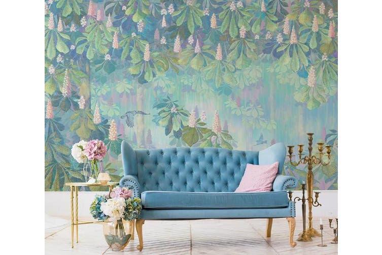 3D Home Wallpaper Flowering Woods 1250 BCHW Wall Murals Woven paper (need glue), XL 208cm x 146cm (WxH)(82''x58'')