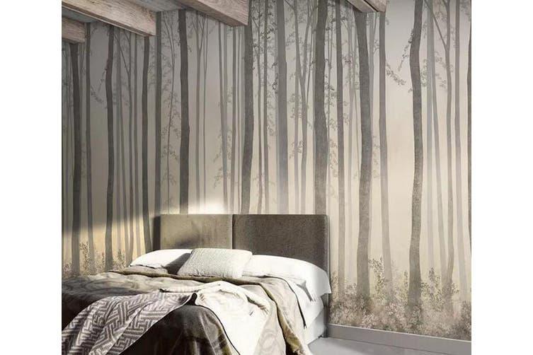 3D Home Wallpaper Sunset Woods 1245 BCHW Wall Murals Self-adhesive Vinyl, XXL 312cm x 219cm (WxH)(123''x87'')
