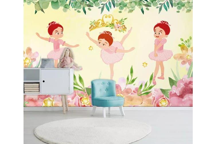 3D Home Wallpaper Child Dance 1239 BCHW Wall Murals Self-adhesive Vinyl, XL 208cm x 146cm (WxH)(82''x58'')