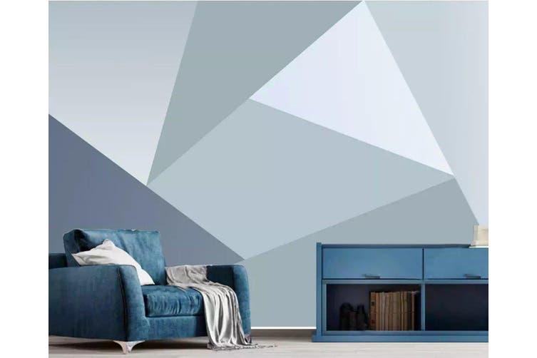 3D Home Wallpaper Triangle 1232 BCHW Wall Murals Woven paper (need glue), XL 208cm x 146cm (WxH)(82''x58'')
