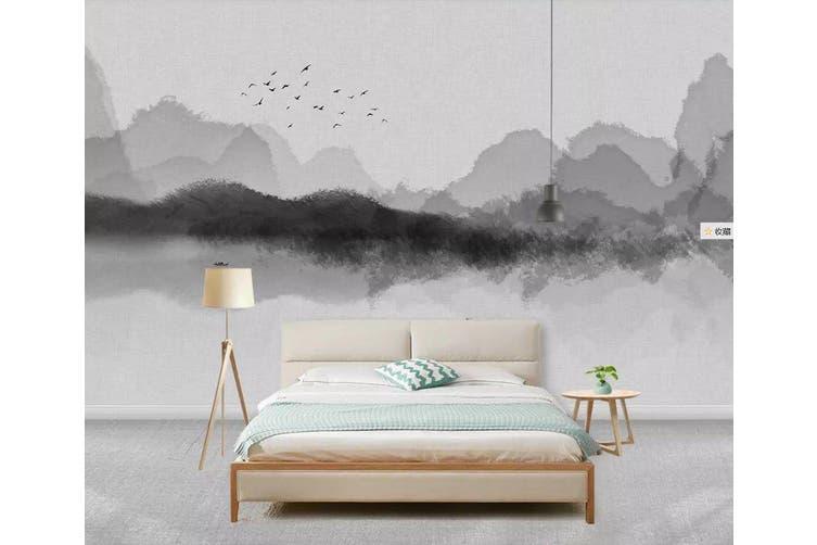 3D Home Wallpaper Mountain River 1231 BCHW Wall Murals Woven paper (need glue), XXL 312cm x 219cm (WxH)(123''x87'')