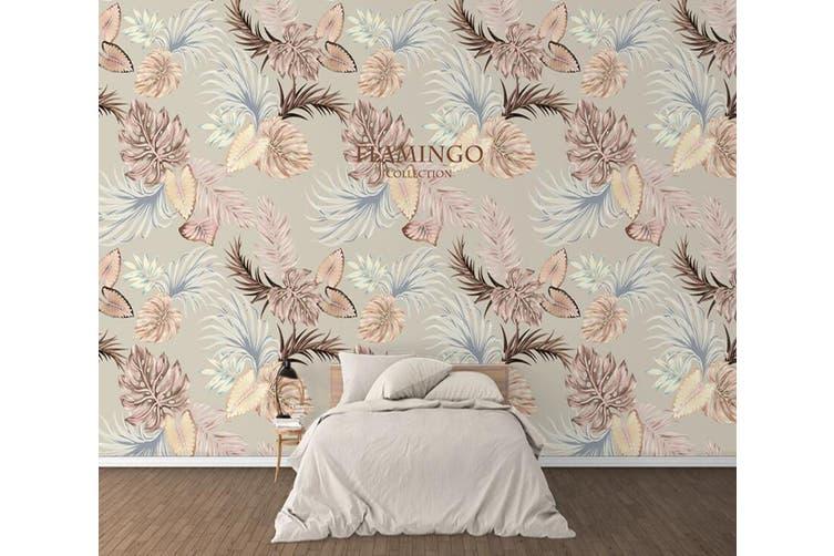 3D Home Wallpaper Colored Flowers 1230 BCHW Wall Murals Self-adhesive Vinyl, XL 208cm x 146cm (WxH)(82''x58'')