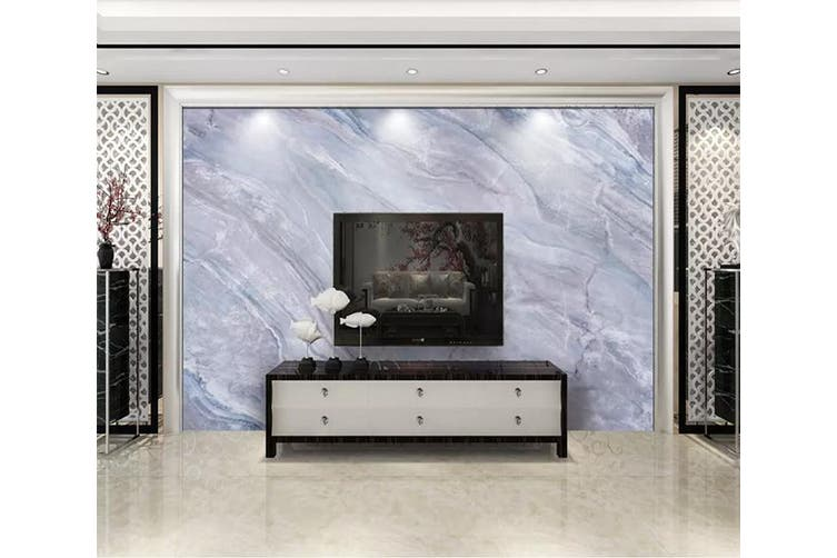 3D Home Wallpaper White Stripe 1229 BCHW Wall Murals Woven paper (need glue), XXXXL 520cm x 290cm (WxH)(205''x114'')